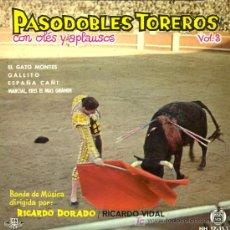 Discos de vinilo: RICARDO DORADO / RICARDO VIDAL - EL GATO MONTÉS / GALLITO / ESPAÑA CAÑÍ / MARCIAL - EP 1961. Lote 10300296