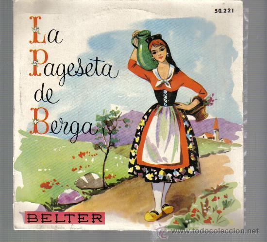 EP COBLA BARCELONA - LA PAGESETA DE BERGA + 3 (Música - Discos de Vinilo - EPs - Étnicas y Músicas del Mundo)
