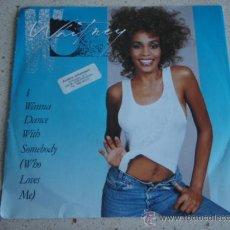 Discos de vinilo: WHITNEY HOUSTON ( I WANNA DANCE WITH SOMEBODY - MOMENT OF TRUTH ) GERNANY-1987 SINGLE45 ARISTA. Lote 10221287