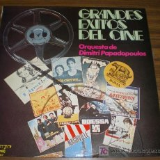 Discos de vinilo: GRANDES EXITOS DEL CINE – ORQUESTA DE DIMITRI PAPADOPOULOS.. Lote 10246907