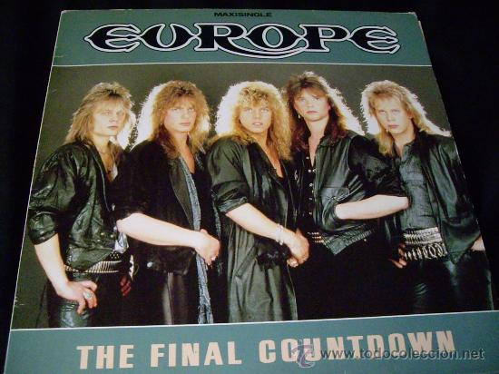 MAXI THE FINAL COUNTDOWN-EUROPE-1986 (Música - Discos de Vinilo - Maxi Singles - Heavy - Metal)