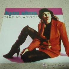 Discos de vinilo: KYM SIMS ( TAKE MY ADVICE 2 VERSIONES ) GERMANY-1992 SINGLE45 ATCO. Lote 10248848
