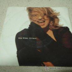 Discos de vinilo: KIM WILDE ( IT'S HERE 2 VERSIONES ) GERMANY-1990 SINGLE45 MCA. Lote 10249108