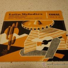 Discos de vinilo: LAURINDO ALMEIDA ( SIBONEY - VERADERA - LA ESTRELLITA - SAMBA SUD ) 'LATIN MELODIES' EP45 . Lote 10253148