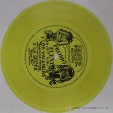 Discos de vinilo: LA SECTA / LOS VALENDAS FLEXI'DISC PROMO MUNSTER. Lote 10256544