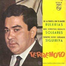 Discos de vinilo: TERREMOTO EP SELLO PHILIPS AÑO 1968. Lote 10260464