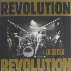 Discos de vinilo: LA SECTA / JOSETXO 'REVOLUTION' SN PROMO. ENCARTE. Lote 10263615