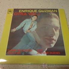 Discos de vinilo: ENRIQUE GUZMAN OTRA VEZ...! ( DAME FELICIDAD - VEN A MI - OYE - AH! QUE BUENO ) MEXICO EP45 CBS. Lote 10271074