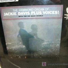 Discos de vinilo: JACKIE DAVIS PLUS VOICES-ORIGINAL 1964. Lote 27582871