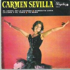 Discos de vinilo: CARMEN SEVILLA - EL ANGEL DE LA GUARDA ** PERGOLA 1966. Lote 13024840