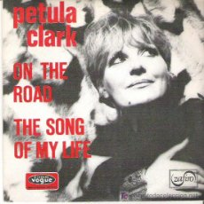 Discos de vinilo: PETULA CLARK - ON THE ROAD **** DISQUES VOGUE 1971. Lote 13052196