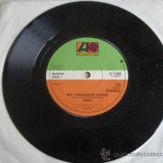 Discos de vinilo: CHIC ( MY FORBIDDEN LOVER - WHAT ABOUT ME ) ENGLAND-1979 SINGLE45 ATLANTIC. Lote 10299441
