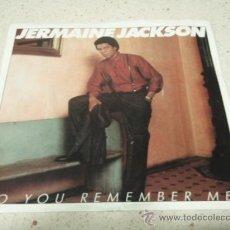 Discos de vinilo: JERMAINE JACKSON ( DO YOU REMEMBER ME? - WHATCHA DOIN' ) NEW YORK-USA 1986 SINGLE45 ARISTA RECORDS. Lote 10312110