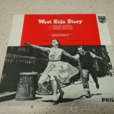Discos de vinilo: 'WEST SIDE STORY' (MARIA - TONIGHT - I FEEL PRETTY - GEE. OFFICER KRUPKE!) ENGLAND EP45 PHILIPS. Lote 10312214