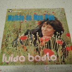 Discos de vinilo: LUISA BASTO ( MALBAO DO MEU PAIS - AMOR RESISTE ) PORTUGAL-1979 SINGLE45 TELECTRA. Lote 10312358