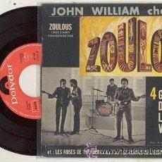 Discos de vinilo: EP 45 RPM / JOHN WILLIAM ( THE BEATLES ) 4 GARCONS DANS LE VENT// EDITADO POR POLYDOR . Lote 26090288