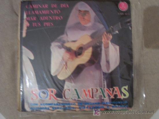 SOR CAMPANAS PAX EP AÑO 1965 (Música - Discos de Vinilo - EPs - Solistas Españoles de los 50 y 60)