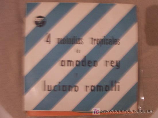 AMADEO REY Y LUCIANO LAMALLI EP (Música - Discos de Vinilo - EPs - Solistas Españoles de los 50 y 60)