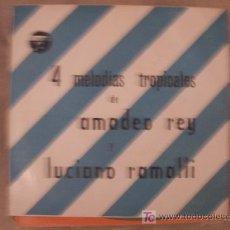 Discos de vinilo: AMADEO REY Y LUCIANO LAMALLI EP. Lote 25935426