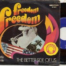 Discos de vinilo: SINGLE 45 RPM / THE BETTER SIDE OF US ( PROGRESSIVE POP) FREEDOM /// EDITADO POR BELTER 1971. Lote 18576390