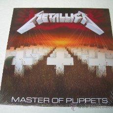 Discos de vinilo: LP METALLICA MASTER OF PUPPETS VINILO HEAVY METAL. Lote 68888779