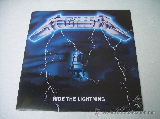 LP METALLICA RIDE THE LIGHTNING VINILO HEAVY METAL (Música - Discos - LP Vinilo - Heavy - Metal)