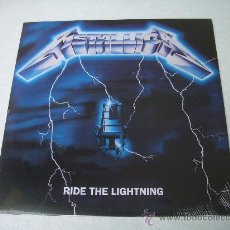 Discos de vinilo: LP METALLICA RIDE THE LIGHTNING VINILO HEAVY METAL. Lote 136874994