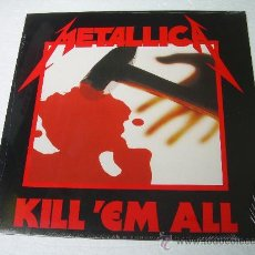 Discos de vinilo: LP METALLICA KILL ´EM ALL VINILO HEAVY METAL. Lote 75954099