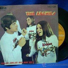 Discos de vinilo: - THE ARCHIES - SUGAR, SUGAR/MELODY HILL - RCA VICTOR 1969 - Nº 1 EN 1969. Lote 17586442