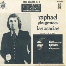 Disques de vinyle: RAPHAEL SINGLE DISCOFLEX EL GRAN MUSICAL COMPARTIDO CON PALOMA SAN BASILIO. Lote 10368611