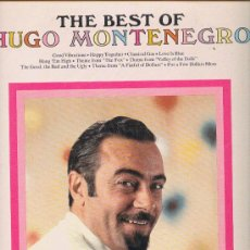 Discos de vinilo: THE BEST OF HUGO MONTENEGRO LP RCA LSP4361 USA VER FOTO ADICIONAL. Lote 10370190