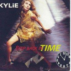 Discos de vinilo: KYLIE MINOGUE SINGLE PROMOCIONAL STE BACK IN TIME 1990 PWL 64 SPA. Lote 10370628