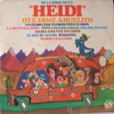 Discos de vinilo: HEIDI MÚSICA DE LA SERIE DE TV. Lote 24500043