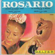 Discos de vinilo: ROSARIO - PIROPO A LA CAÑA *** BELTER 1963. Lote 11344106