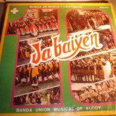 Discos de vinilo: DISCO LP - JA BAIXEN, MUSICA DE MOROS Y CRISTIANOS. ALCOY.. Lote 17627062
