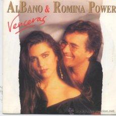 Disques de vinyle: AL BANO(ALBANO) Y ROMINA POWER,VENCERAS DEL 93 PROMO LAS2 CARAS IGUALES. Lote 10419726