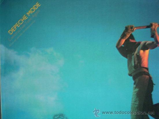 DEPECHE MODE,OTRA VEZ PERIODO DE CONSTRUCCION DEL 86 (Música - Discos - LP Vinilo - Pop - Rock - New Wave Extranjero de los 80)