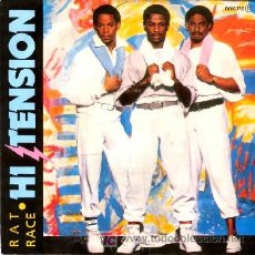 Discos de vinilo: H1-TENSION ··· RAT RACE / IN THE DARK - (SINGLE 45 RPM). Lote 22482703