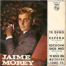 Discos de vinilo: JAIME MOREY EP SELLO PHILIPS AÑO 1965 . Lote 10430168
