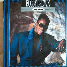 Discos de vinilo: MAXI - BOBBY BROWN - RONI/EVERY LITTLE HIT(MIX) - EDICION ALEMANA, MCA RECORDS 1989. Lote 10437958