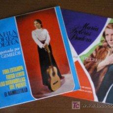 Discos de vinilo: 2 EP DE MARIA DOLORES PRADERA ACOMPAÑADA DE LOS GEMELOS. Lote 25594955