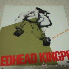 Discos de vinilo: REDHEAD KINGPIN & THE FBI ( WE ROCK THE MIC - SCRAM ) ENGLAND-1990 SINGLE45 10RECORDS. Lote 10445014