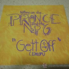Discos de vinilo: PRINCE AND THE NEW POWER GENERATION ( GETT OFF - HORNY PONY ) GERMANY-1991 SNGLE45. Lote 10445092