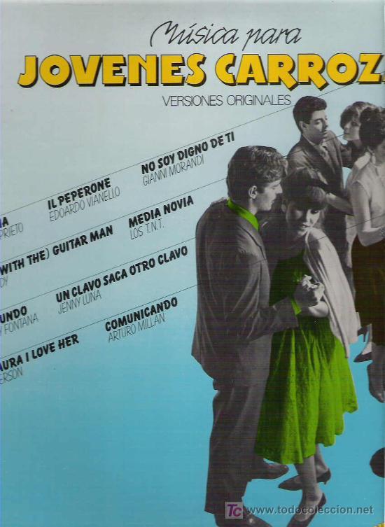 MUSICA PARA JOVENES CARROZAS VOL 2 - SYLVIE VARTAN / GIANNI MORANDI / JENNY LUNA (Música - Discos - LP Vinilo - Solistas Españoles de los 50 y 60)