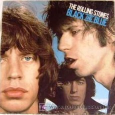 Discos de vinilo: ROLLING STONES - BLACK AND BLUE. Lote 27297199