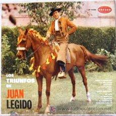 Discos de vinilo: JUAN LEGIDO - LOS TRIUNFOS DE JUAN LEGIDO, VOL. II. Lote 27308791