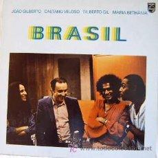 Discos de vinilo: BRAZIL - JOÃO GILBERTO, CAETANO VELOSO, MARÍA BETHÂNIA Y GILBERTO GIL. Lote 26531825