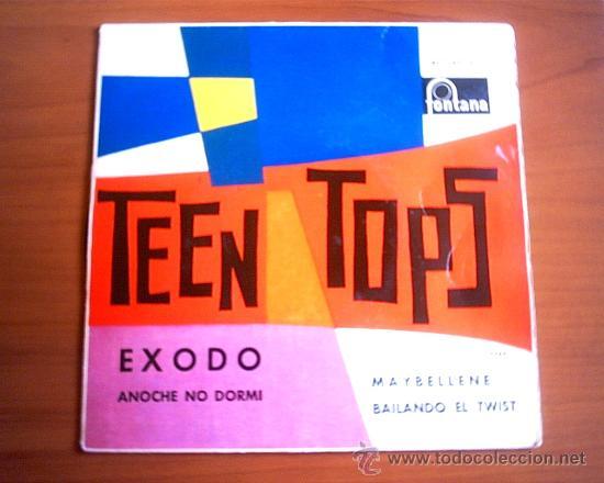 TEEN TOPS - 1962 / FONTANA (Música - Discos - Singles Vinilo - Pop - Rock Extranjero de los 50 y 60)