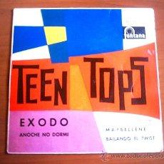 Discos de vinilo: TEEN TOPS - 1962 / FONTANA. Lote 25987162