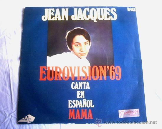 JEAN JACQUES - 1969 (Música - Discos - Singles Vinilo - Festival de Eurovisión)